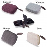 10 Roll-On or 5ML Bottle - Hemp Hard Shell Travel Essential Oil Carry Bag (4 Colors)