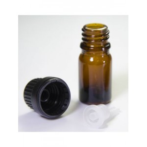 5ml Glass Vials with Orifice Reducer & Euro-Style Cap (Single)