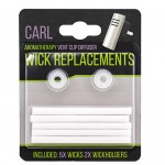 Carl Replacement Wicks & Orifices (5 Wicks + 2 Orifices)