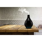 Cara - Stylish Black Porcelain Aromatherapy Diffuser - Silent