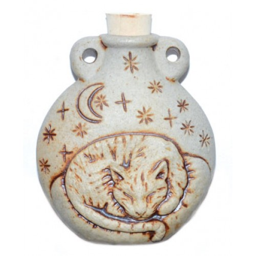 Cat Ceramic Oil Bottle