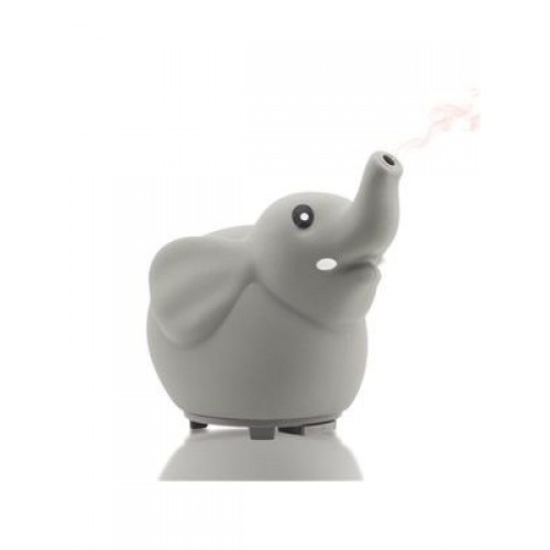 Little Ones™ Series - ELEPHANT Room Aromatherapy Diffuser for Essential Oils - New Silicone Soft Top Design - USB Powered