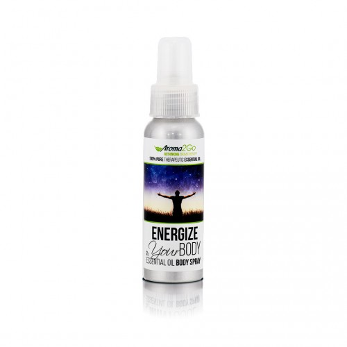 Energize Your Body - 100% Pure Plant Based Essential Oil Body Spray (2oz & 4oz)