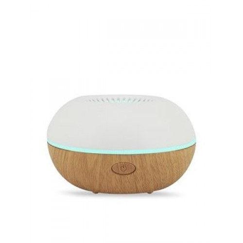 Fandy Fan Travel Aromatherapy Diffuser with Wood Trim Finish - LED lights, USB Powered - SILENT