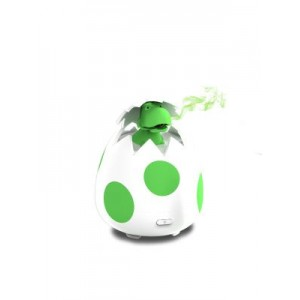 Little Ones™ Series - DINO EGG Room Aromatherapy Diffuser for Essential Oils - New Silicone Soft Top Design - USB Powered
