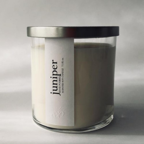Juniper Scented Luxury Soy Candle