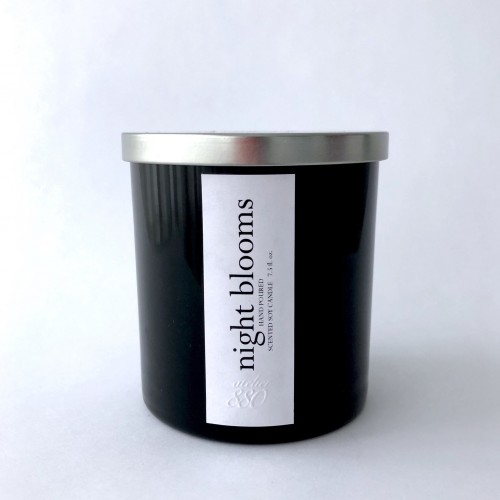 Night Blooms Scented Luxury Soy Candle
