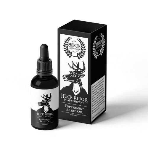 Peppermint Premium Beard Oil