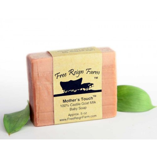 Mother's Touch Pure Castile Goat Milk Baby Soap