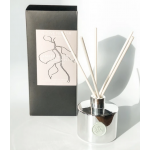 Amber, Lime & Sugared Plum Scented Reed Diffuser