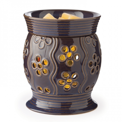 Glimmer Candle & Wax Melt Warmer in Bloom